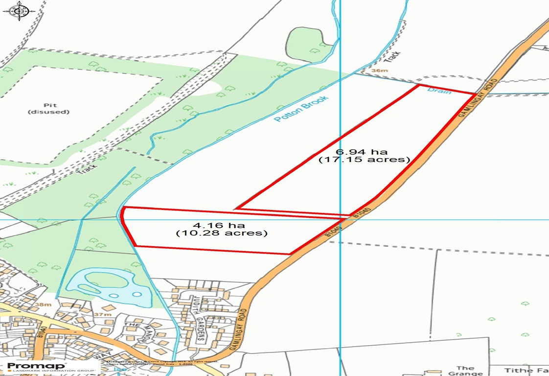 Land at Gamlingay Road, Potton