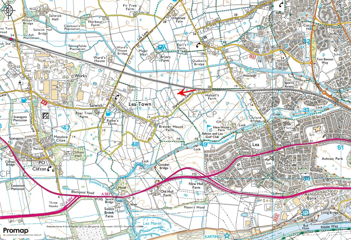Land at Darkinson Lane, Lea Town, Preston